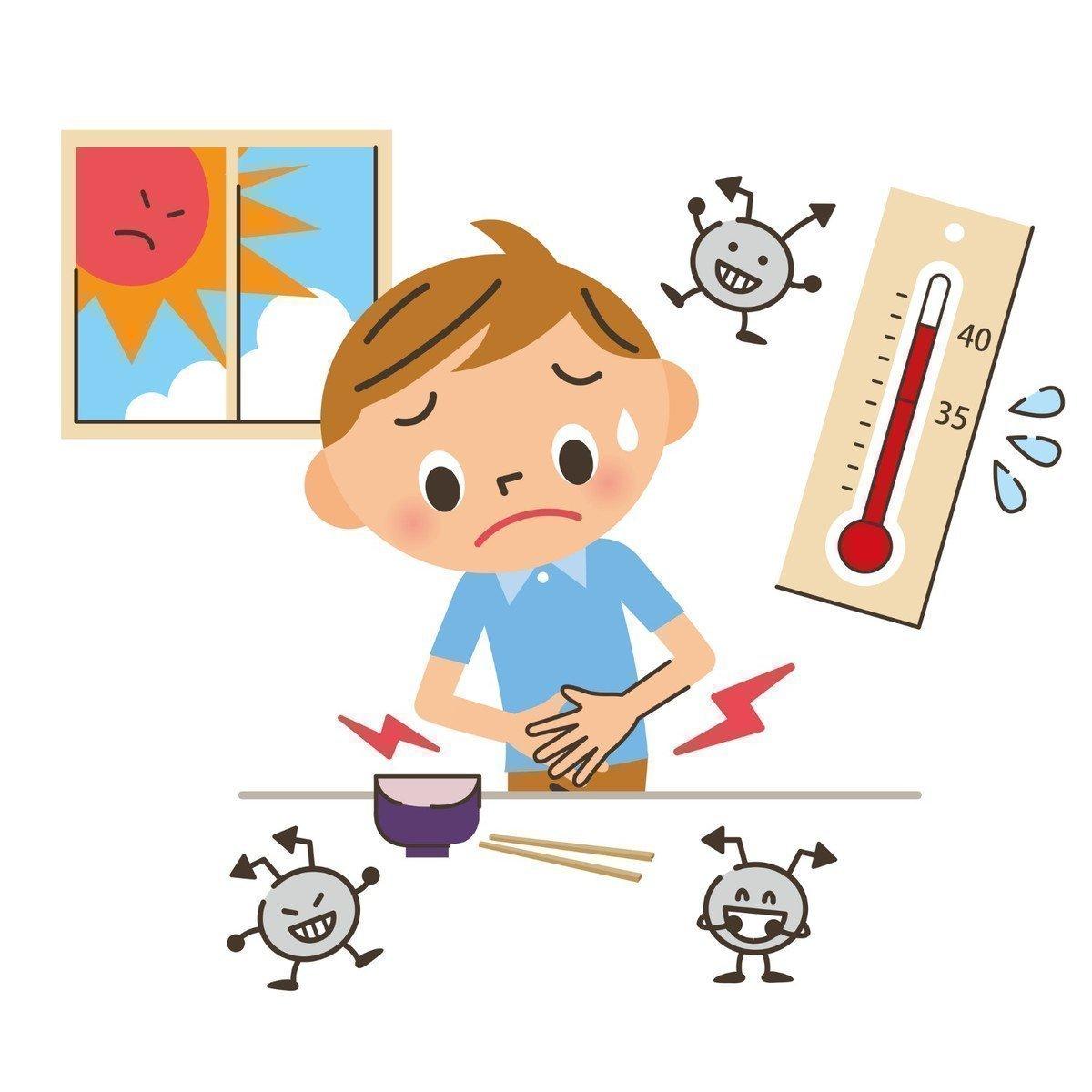 夏は食中毒が起こりやすい季節!食中毒の起こる原因や予防策を解説します!の画像