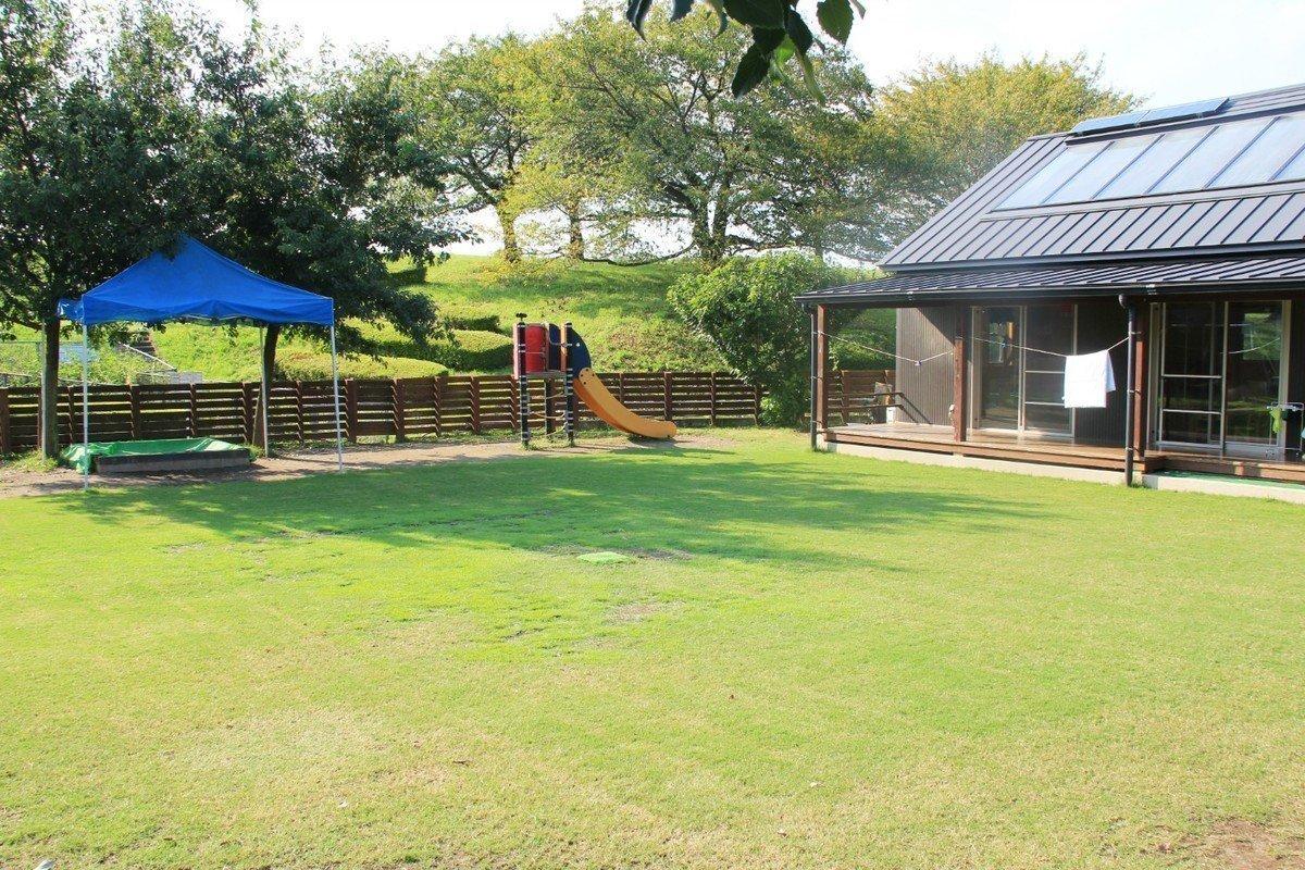 おがやの里しもだ保育園は自然に囲まれた大きな家!の画像